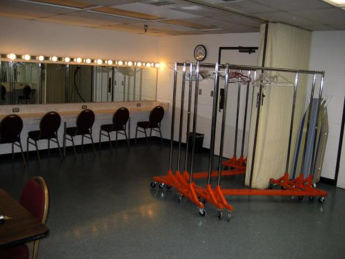 CFA/Smothers Theatre dressing rooms