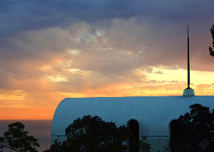 Stauffer Chapel during sunset - Pepperdine University