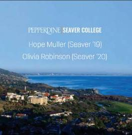 Season 1 - Episode 6: Seaver Students Hope Mueller and Olivia Robinson