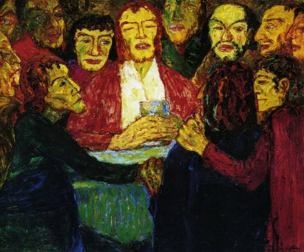 Emil Nolde Last Supper