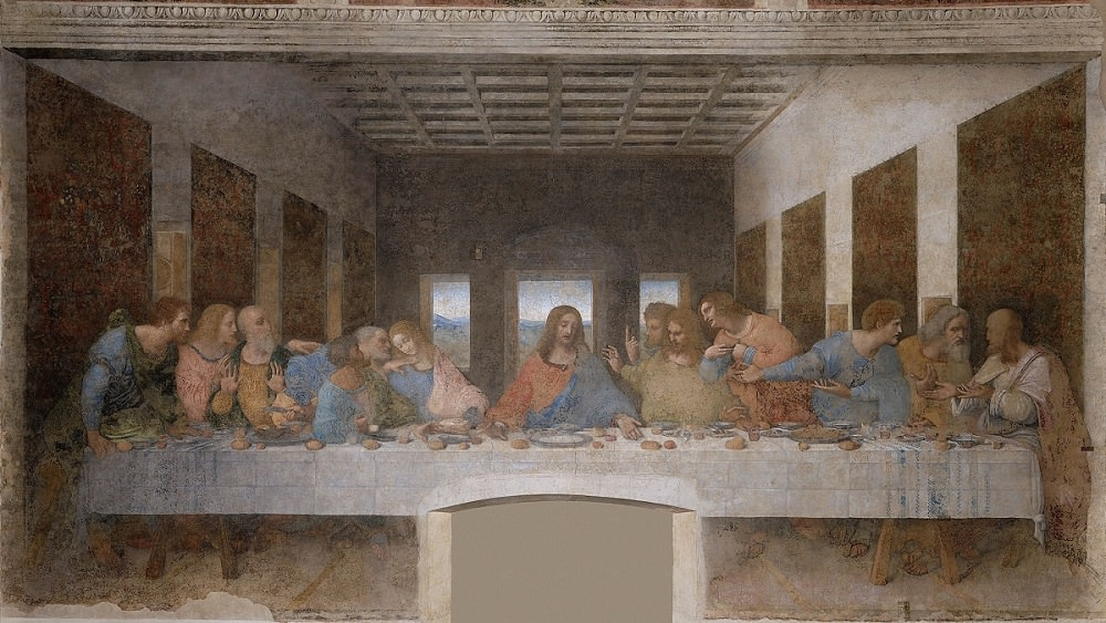 last supper by divinci