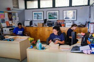 Students in classroom - Pepperdine University
