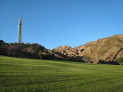 A view of the campus grass - Pepperdine University