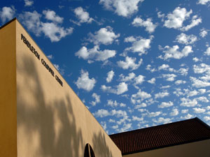 Sky from the Malibu Campus